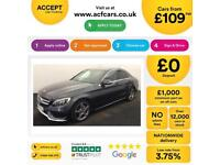Mercedes-Benz C220 AMG FROM £109 PER WEEK!