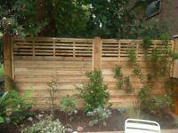 3x Kyoto-style Forest Garden fence panels – save £110! Brand new and unused