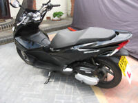 Honda PCX125 scooter black 2014