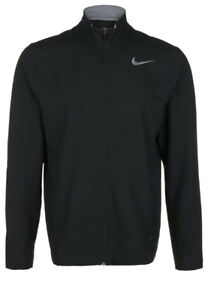 NIKE DRI-FIT MENS TRAINING TEAM WOVEN JACKET FULL ZIP BLACK
