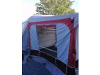 Starcamp Cameo Bordeaux full caravan awning size 8 (825-850 cm)