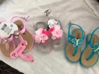 Brand new toddler sandals
