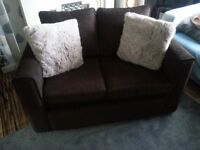 2 seater sofa an matching armchair