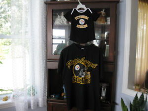 Pittsburgh Steelers T-Shirts for Dad and Baby