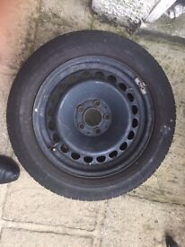 "Mercedes 16"" Rim Spare Wheel With Very Good Tread"