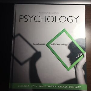 Psychology- from inquiry to understanding textbook