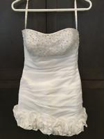 Sexy beautiful white wedding gown Belle robe de mariée blanche City of Montréal Greater Montréal Preview