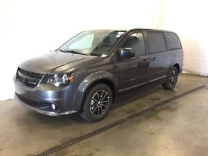 2017 Dodge Grand Caravan SXT Plus Blacktop +DVD+