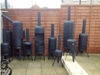 Gas bottle wood / Log burners