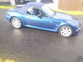 BMW Z3 only 48000 miles immaculate condition 1.8 - NEW MOT