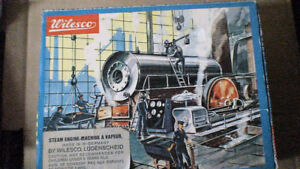 Wilesco Steam Engine  D-8 box slight damage model fine