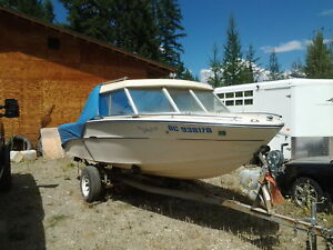 17' Searay Hardtop inbrd/outbrd with calkins tlr