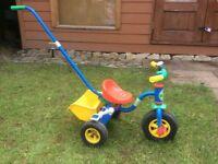 Kids Trike with handle