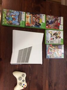 Xbox 360 w/hookups and games