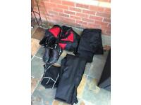 Assorted Motorcycle Gear - near new