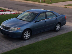 2002 Toyota Camry LE(4 cylindre 2.4 L)