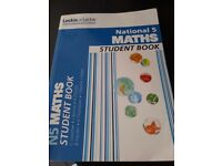 National 5 Maths Book. student book