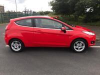 LOVELY 2013 FORD FIESTA 1.2 ZETEC £30 ROAD TAX MODEL LONG MOT 3 DOOR, NEW