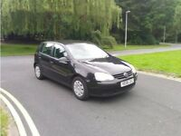 VW GOLF 1.6 FSI [AC] 6 SPEED, ONLY 2 OWNERS, 12 MONTHS MOT, 12 MONTHS WARRANTY, JUST SERVICED