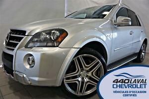 2011 Mercedes-Benz M-Class ML63 AMG 4MATIC*GPS*503 HP*
