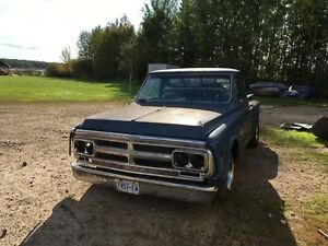 1971 GMC short box step side for sale