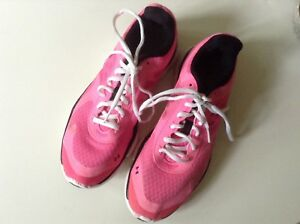 Under armour pink running, sport shoes