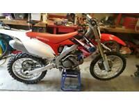 Honda crf250 motocross