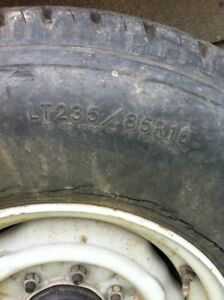 """Want LT235-75R or 85R 16"""" tires"""