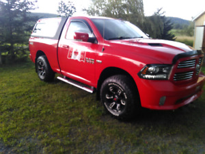 2015 DODGE RAM WITH PLOW