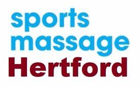 Sports Soft Tissue & Deep Tissue Massage in Hertford