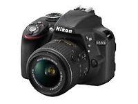 Brand New Nikon D3300 DSlR Camera