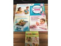 Baby recipe books