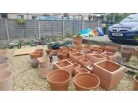 Big garden pots