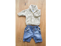 Baby Boy Clothes Bundle - Up to 1 Month - 22 items - £10
