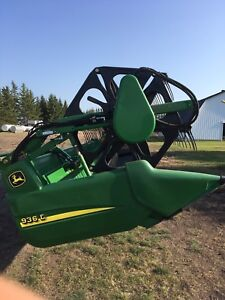 "REDUCED JOHN DEERE HEADER ""SOLD"""