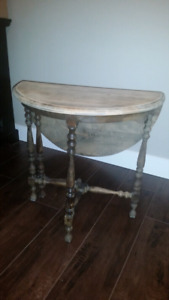 Antique Moon Table