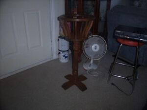 solid wood fern/plant stand