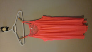 Hot pink summer swing dress lg