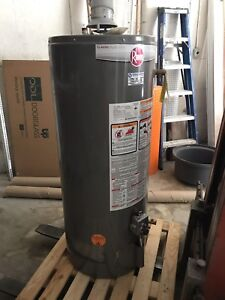 Natural vent 40 gal gas water heater