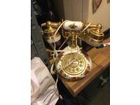 Vintage Royal Albert telephone