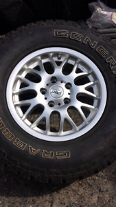 15 inch rims with General Grabber tires
