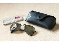 Genuine Ray-Ban Aviator Sun Glasses