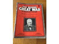ASSORTED EDITIONS OF ORIGINAL WW2 MAGAZINES