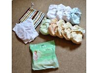 9 Reusable bamboo nappies by Close Parent 'pop in'