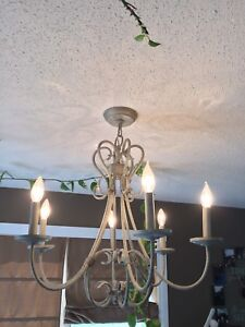 Chandelier and matching pendant light