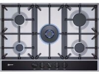 BRAND NEW Neff T27DA69N0 75cm 5 Burner Gas Hob - Stainless Steel