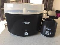 Tommee tippee steam steriliser with bottle warmer