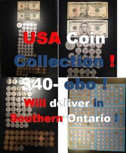 USA Coin Collection !  Will deliver in Southern Ontario !