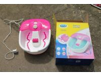 Scholl Foot spa Excellent condition. Used once