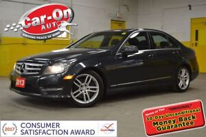 2013 Mercedes-Benz C-Class 300 4MATIC LEATHER SUNROOF LOADED